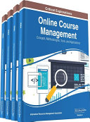 Pdf Online Course Management: Concepts, Methodologies, Tools, and Applications Telecharger