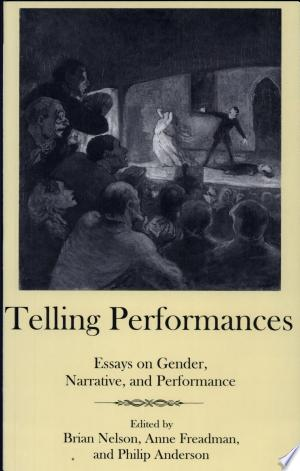 Download Telling Performances Free Books - E-BOOK ONLINE