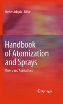 Handbook of Atomization and Sprays