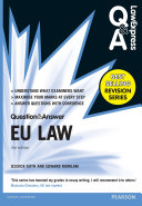 Law Express Question and Answer  EU Law  Q A revision guide