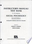 Social Psychology Inst.Manual 2nd