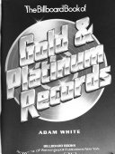 The Billboard book of gold & platinum records