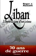Liban, l'instruction d'un crime