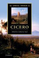 The Cambridge Companion to Cicero