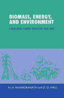 Biomass Energy And Environment Book PDF