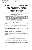 The Women s Trade Union Review