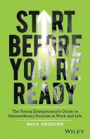Start Before You're Ready [Pdf/ePub] eBook