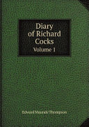 Diary of Richard Cocks