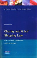 Chorley and Giles  Shipping Law