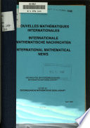 International mathematical news