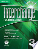 Interchange Level 3 Full Contact with Self-study DVD-ROM