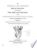 The Noble and Gentle Men of England