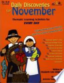 Daily Discoveries For November Enhanced Ebook  Book
