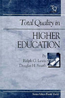 Total Quality in Higher Education