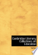 Cambridge Literary Collections on Education.epub