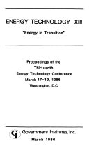 Energy technology  Energy Technology Conference Book