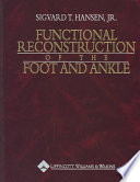 Functional Reconstruction Of The Foot And Ankle Book PDF