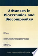 Advances in Bioceramics and Biocomposites