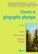 Éléments de géographie physique