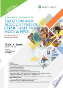 A Practical Approach to Taxation and Accounting of Charitable Trusts  NGOs   NPOs
