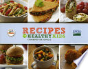 Recipes for Healthy Kids Cookbook for Schools