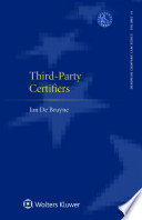 Third-Party Certifiers