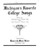 Pdf Michigan's Favorite College Songs