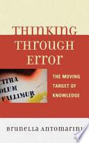 Thinking Through Error