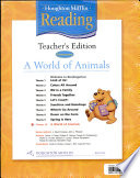 Houghton Mifflin Reading: theme 10. A world of animals