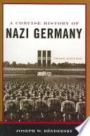 A Concise History of Nazi Germany Book PDF