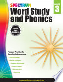 Spectrum Word Study and Phonics, Grade 3