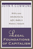 Pdf Legal Foundations of Capitalism Telecharger
