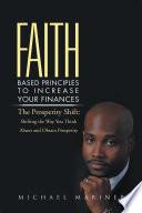 Faith Based Principles to Increase Your Finances Book