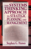 Pdf The Systems Thinking Approach to Strategic Planning and Management Telecharger
