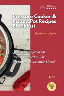 Pressure Cooker and Instant Pot Recipes - Breakfast