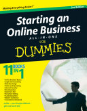 Starting an Online Business All-in-One Desk Reference For Dummies