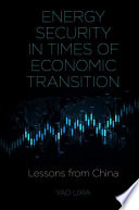 Energy Security in Times of Economic Transition Book