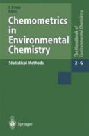 Chemometrics in Environmental Chemistry   Statistical Methods
