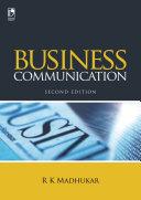 Business Communication  2nd Edition
