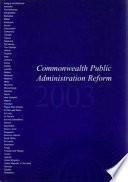 Commonwealth Public Administration Reform 2004
