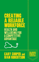 Creating a Resilient Workforce: Health and Wellbeing for a ...