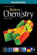 Modern Chemistry Interactive Reader Grades 9-12