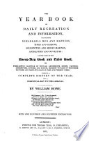 The Year Book of Daily Recreation and Information Pdf/ePub eBook