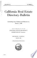 Directory of Brokers and Salesmen