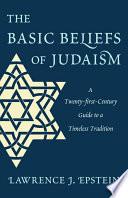 The Basic Beliefs of Judaism