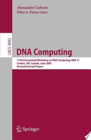 [pdf - epub] DNA Computing - Read eBooks Online