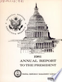 National Defense Executive Reserve Annual Report To The President