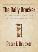 The Daily Drucker Book