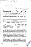 Iowa Public Health Bulletin