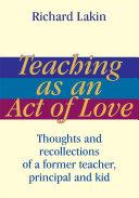 Teaching as an Act of Love [Pdf/ePub] eBook